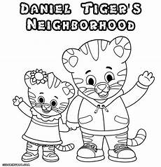 daniel tiger sheets daniel tiger coloring pages coloring pages to download and print
