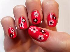pretty red nail designs design trends premium psd