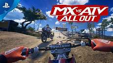 mx vs atv all out gameplay trailer and new information