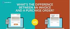 what s the difference between a purchase order and an