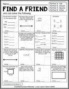 end of year activities math review of grade 3 concepts by love learn teach