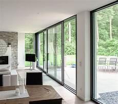 schiebeelemente für terrassen modern living mit einer dreil 228 ufigen schiebet 252 re