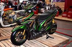 Foto Motor Vario 150 Modifikasi Motor Modif