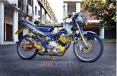 Modifikasi Fu 2013 by Modifikasi Suzuki Satria Fu 150 2013 Cilacap Bajak