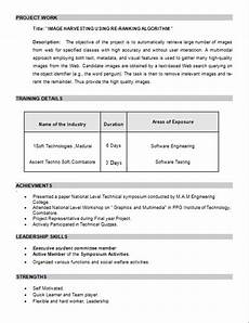 resume format for m tech freshers pdf