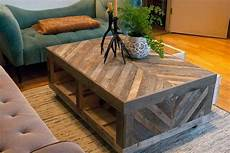 Tafel Selber Bauen - chevron pallet coffee tables pallet wood projects