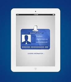 id card template psd free