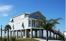 waterfront house plans on pilings elevated coastal beach house plans with pilings jpg 1731