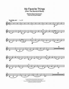 my favorite things from the sound of music sheet music by rodgers hammerstein violin 107358