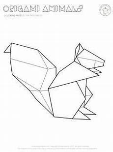 Malvorlagen Geometrische Tiere Origami Tiere Mickael S Auf Tatouages Origami