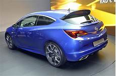 opel astra opc with 276hp storms the 2012 geneva motor