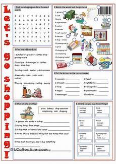 worksheets shopping 18462 shopping vocabulary exercises vocabulary exercises
