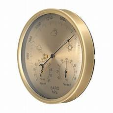 Gold Wall Hanging Weather Thermometer Barometer by 3 In 1 Wall Hanging Weather Thermometer Barometer Pressure