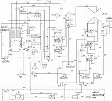 Layout Of A Coal Fired Power Plant With Feedwater