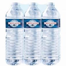 livraison palette eau cristaline eau de source plate 6x1 5l achat vente eau