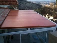 panneau sandwich toiture veranda toiture de v 233 randa en thermotop avec membrane phonique