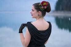 festliche vintage mode ein 50er jahre kleid und