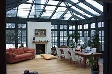 wintergarten beheizt freistehende konstruktion mit