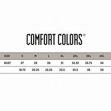 Comfort Colors Tank Size Chart Mens Heavyweight Ringspun Tank Top By Comfort Colors