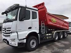 mercedes arocs used mercedes arocs 3258 tippbil dump trucks year
