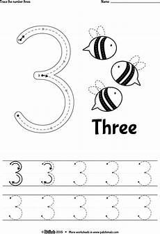 three letter worksheets for kindergarten 23540 trace number 3 eng png 1115 215 1637 preschool number worksheets tracing worksheets preschool