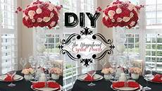 diy tall crystals and pearls centerpiece youtube
