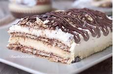 dolce con i wafer dolce ai wafer al caffe e mascarpone ricette dolci dolci ricette