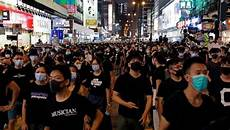 china has banned exports of black clothing to hong kong including undies shanghaiist