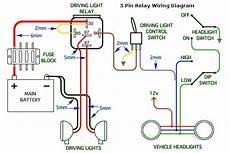 5 Pin Headlight Wiring Diagram For Cars And Trucks Car