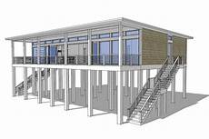 modern stilt house plans house plan 028 00092 modern plan 2 457 square feet 4