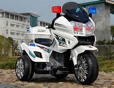 Motorrad Für Kinder - 12v polizei elektro motorrad kindermotorrad roller