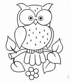 30 Sketsa Gambar Burung Hantu Servergambar01