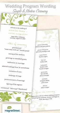 wedding program wording templateswedding program wording