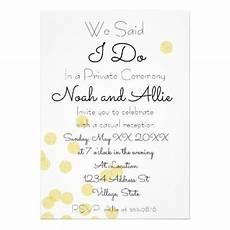 private ceremony reception invitation wedding invitations cards custom invitation card