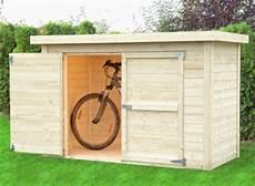 abri vélo bois abri v 201 lo ou moto au jardin des abris pour 2 roues