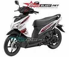 Modifikasi Motor Vario 110 Fi by Striping Baru Untuk Honda Vario 110 Exclusive Motoblast