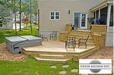 deco spa exterieur patio avec spa cr 233 ation de terrasse cours et design