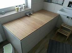 Bad Selber Bauen - badewannenabdeckung aus holz ganz einfach selbst gemacht