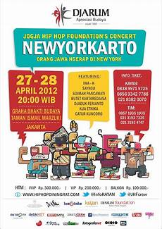 New York Malvorlagen Jogja Newyorkarto Jogja Hip Hop Foundation Concert Konser
