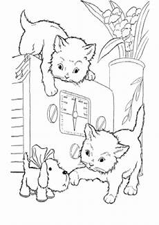 Malvorlagen Hunde Und Katzen Hunde Katzen Malvorlagen Coloring And Malvorlagan