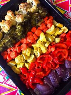 rainbow vegetables recipe easy healthy oven roasted