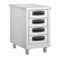 Kitchen Drawers Stainless Steel by Inomak Stainless Steel 4 Drawer Unit Es764c Kitchen