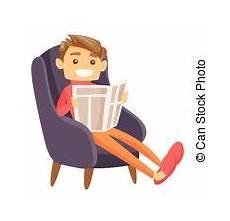sessel sitzen altes sitzen sessel zeitung lesende mann seine