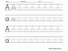 free tracing letter a worksheet