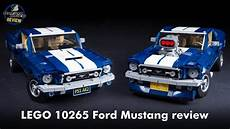 Lego Creator Expert 10265 Ford Mustang Unboxing Speed