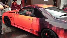 new heat sensitive color changing kandy automotive paint world s first all over youtube