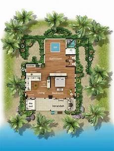 turtle island fiji tropical house design hotel floor