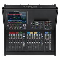 mixer console roland m 5000c ohrca compact mixing console at gear4music