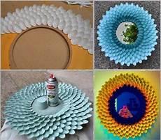 manualidades reciclar el marco de un espejo renovar espejos manualidades y reciclados
