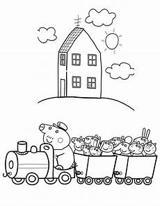 Ausmalbilder Peppa Wutz Haus Peppa Pig Coloring Pages Printable For Children Of All